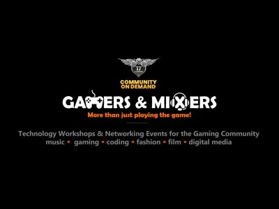 banner - gamers & mixers