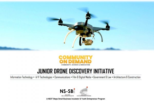 banner - junior drone discover initiative