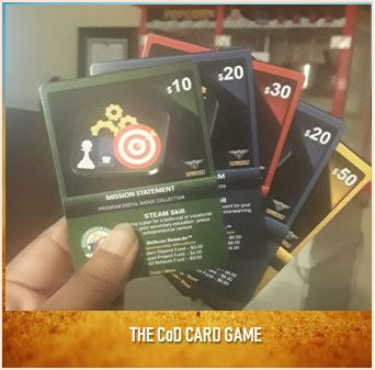 The CoD Card Game