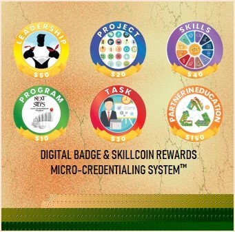 Digital Badge & Skillcoin Rewards System