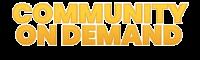 logo - community on demand text clear