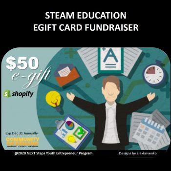 box - steam education egift card